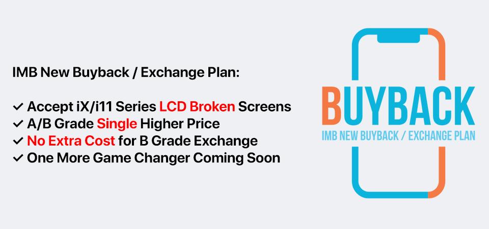 IMB NEW BUYBACK / EXCHANGE PLAN