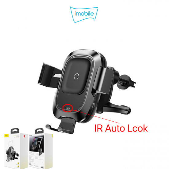 (5183) Baseus Wireless Car Holder and Charger [WXZN-01] Bracket Wireless Charger