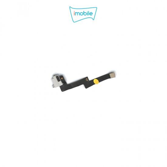 (6713) iPad Air 3 Compatible Headphone Jack Flex [White]