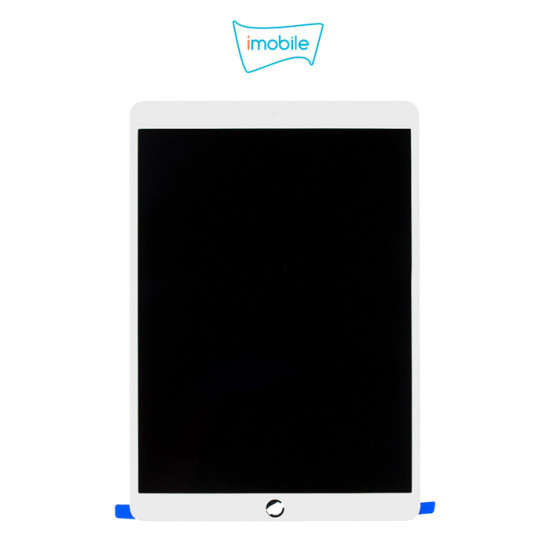 (6239) iPad Air 3 Compatible LCD Touch Digitizer Screen [White] [with Chip Smart Cover Function]