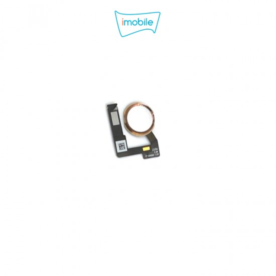 (6706) iPad Air 3 / iPad Pro 10.5 Compatible Home Button [Gold]