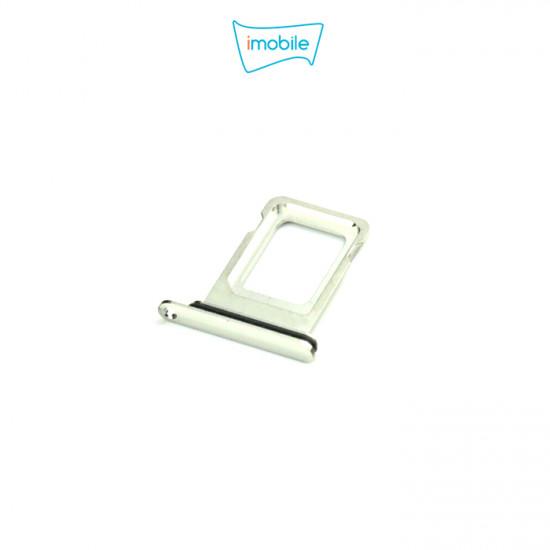 (6258) iPhone 11 Pro / 11 Pro Max Compatible Sim Tray [Silver]