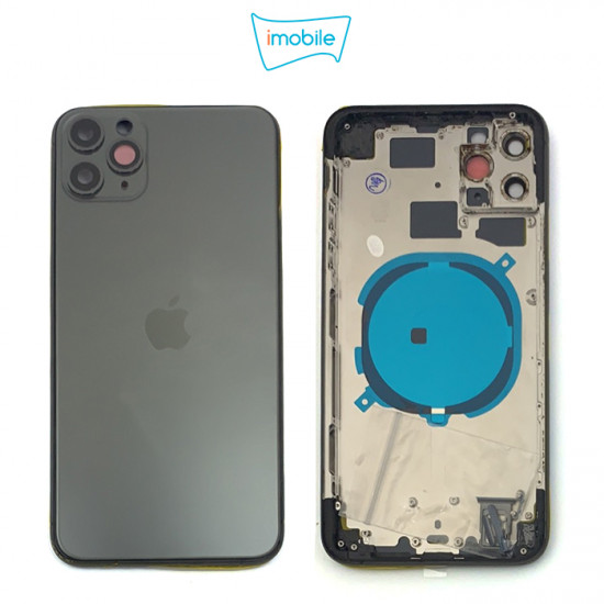 (7271) iPhone 11 Pro Max Compatible Back Housing [no small parts] [Space Grey]