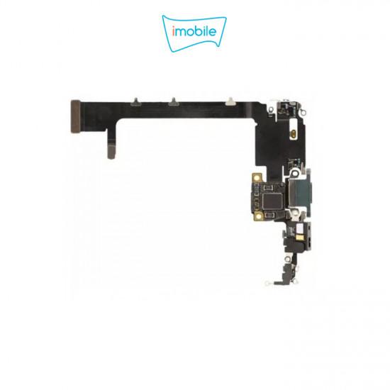 (6786) iPhone 11 Pro Max Compatible Charging Port Flex Cable [Gold] Original