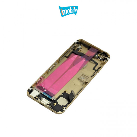 (2395) iPhone 6S Compatible Back Cover Full Assembly Gold