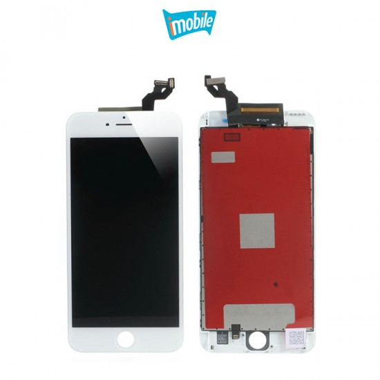 (a434) iPhone 6S Plus Compatible LCD Touch Digitizer Screen Refurbished AAA [White]
