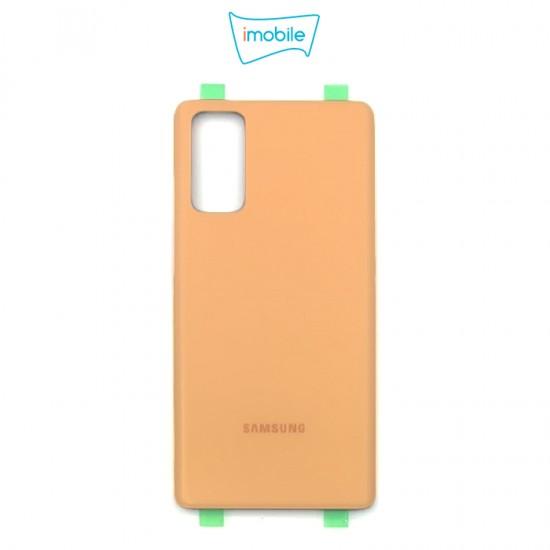 (7405) Samsung Galaxy S20 FE G781 Back Cover [High Quality no Lens] [Cloud Orange]