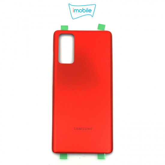 (7406) Samsung Galaxy S20 FE G781 Back Cover [High Quality no Lens] [Cloud Red]