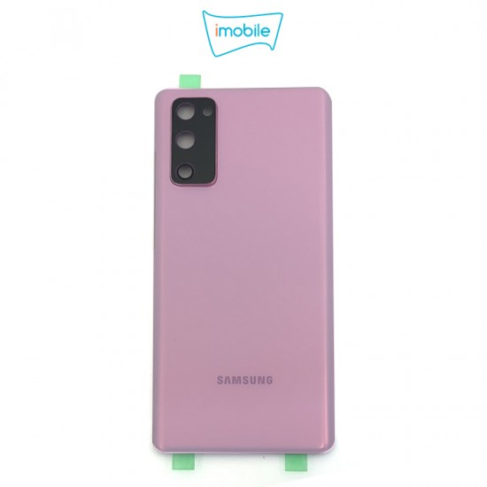 (7433) Samsung Galaxy S20 FE G781 Back Cover [High Quality with Lens] [Cloud Lavender]