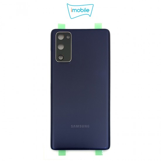 (7435) Samsung Galaxy S20 FE G781 Back Cover [High Quality with Lens] [Cloud Navy]