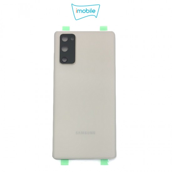 (7438) Samsung Galaxy S20 FE G781 Back Cover [High Quality with Lens] [Cloud White]