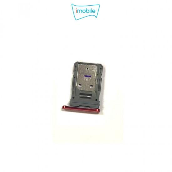 (7553) Samsung Galaxy S20 FE Sim Tray [Red]