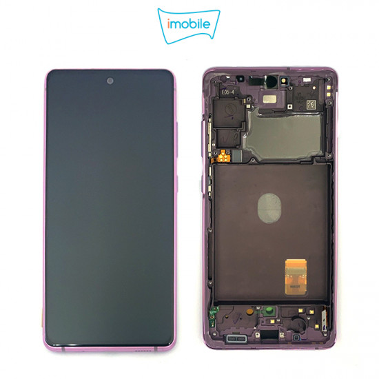(7299) Samsung Galaxy S20 FE SM-G781B LCD Touch Digitizer Screen [Cloud Lavender] Service Pack