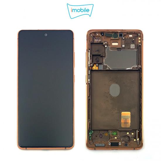 (7302) Samsung Galaxy S20 FE SM-G781B LCD Touch Digitizer Screen [Cloud Orange] Service Pack