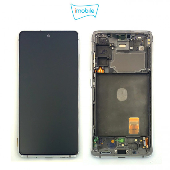 (7298) Samsung Galaxy S20 FE SM-G781B LCD Touch Digitizer Screen [Cloud White] Service Pack
