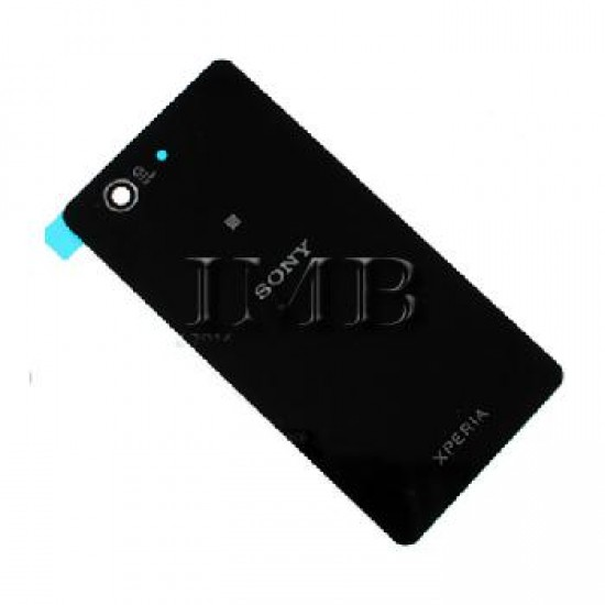 (1753) Sony Xperia Z1 Compact Back Cover Black