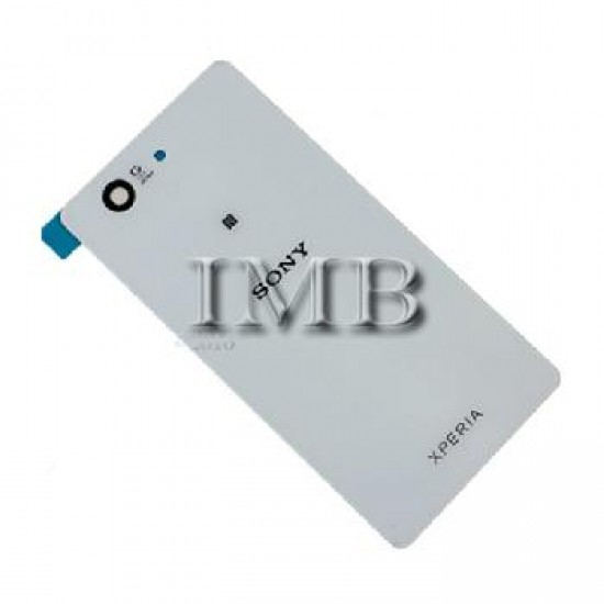 (1754) Sony Xperia Z1 Compact Back Cover White