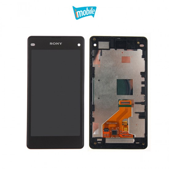 (3776) Sony Xperia Z1 Compact LCD and Digitizer Assemby with Frame [Include Adhesive]