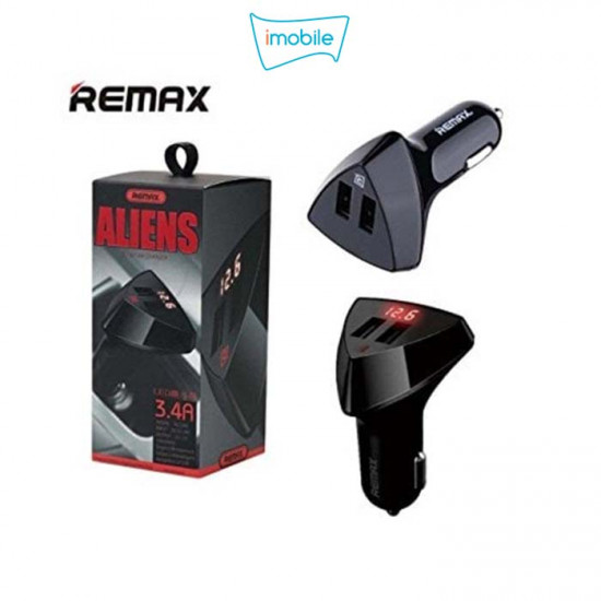(5868) REMAX 2 in 1 3.4A Car Charger RC-C208