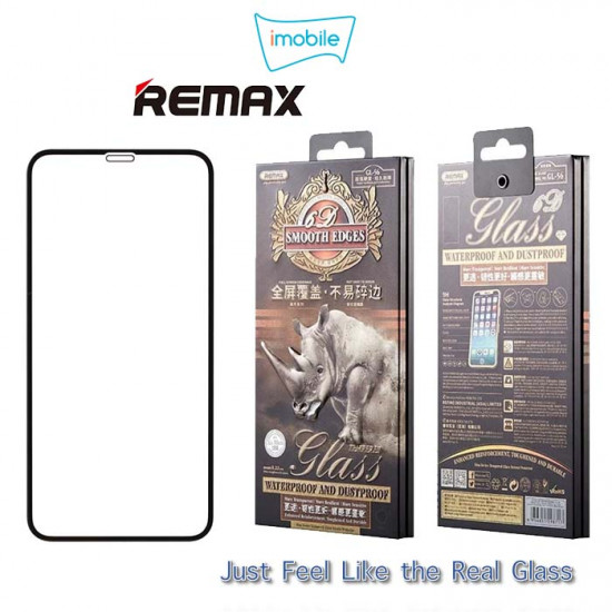 (6126) Remax Rhino Tempered Glass For iPhone XS Max [Black]