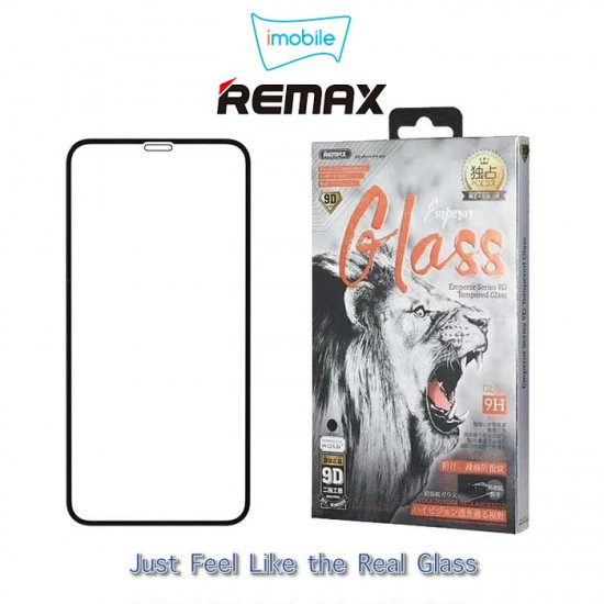 (7385) Remax Emperor 9D Tempered Glass for iPhone 12 / 12 Pro (6.1 inch)